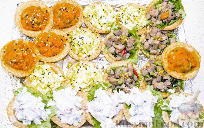 Рецепты быстрых салатов и закусок с фото